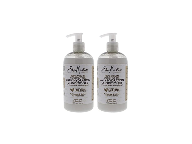 SheaMoisture Daily Hydration Conditioner, 13 oz / 384 ml, Pack Of 2