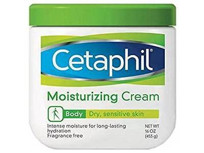 Cetaphil Moisturizing Cream for Dry/Sensitive Skin, 16 oz - Image 1