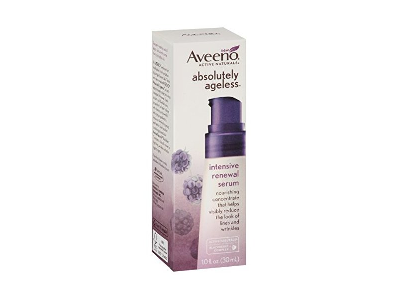 Aveeno Absolutely Ageless Intensive Renewal Serum, 1 fl oz
