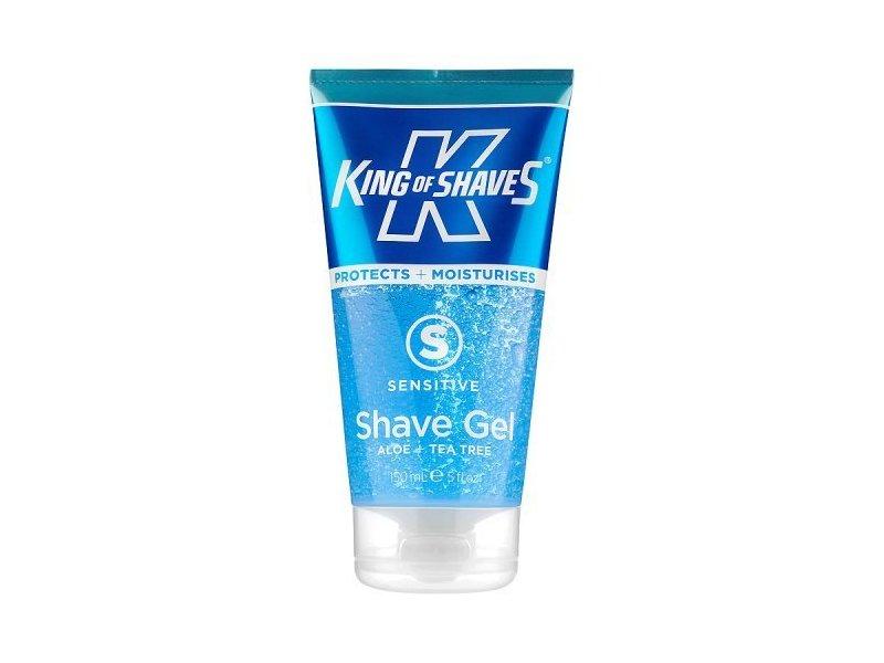 King of Shaves Alpha-Gel Shaving Gel, Sensitive, 5 Ounce
