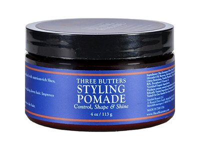 SheaMoisture for Men Three Butters Styling Pomade, 4 oz - Image 1