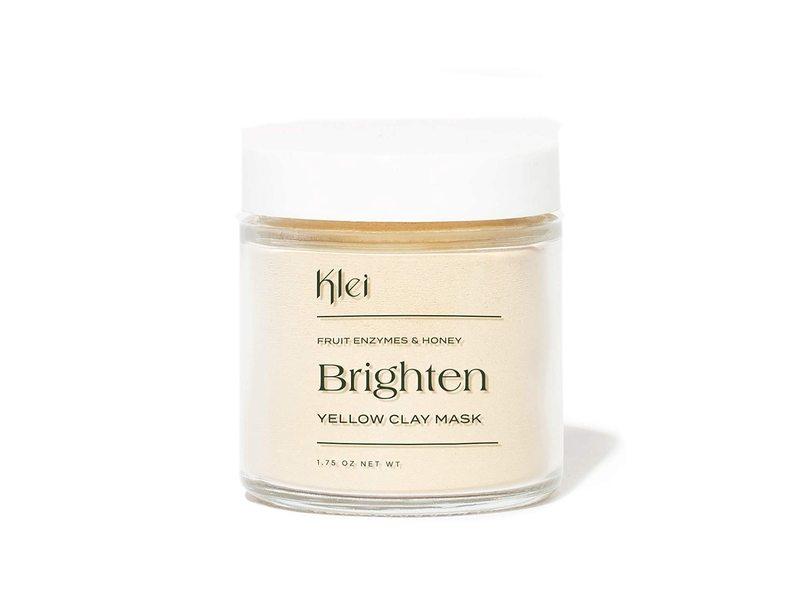 Klei Brighten Fruit Enzymes & Honey Yellow Clay Mask, 1.75 oz