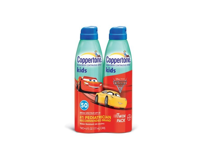 b5b82f1d60f8e Coppertone Kids Broad Spectrum SPF 50 Continuous Spray Sunscreen, 2.6 fl  oz. Loading zoom