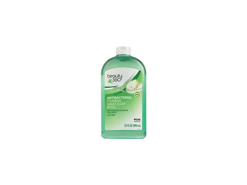 Beauty 360 Antibacterial Foaming Hand Soap Refill, Coconut Water