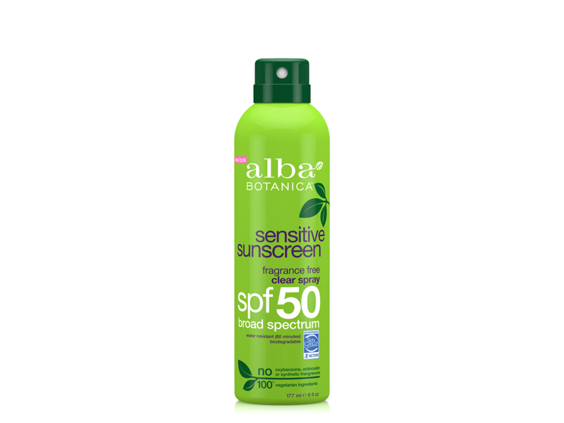 Alba botanica sunscreen spray