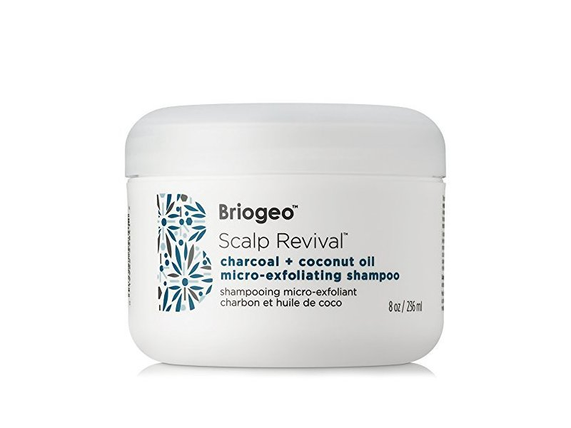 Briogeo Scalp Revival Charcoal + Coconut Oil Micro-exfoliating Shampoo, 8 Ounce