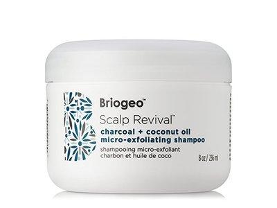 Briogeo Scalp Revival Charcoal + Coconut Oil Micro-exfoliating Shampoo, 8 Ounce - Image 1
