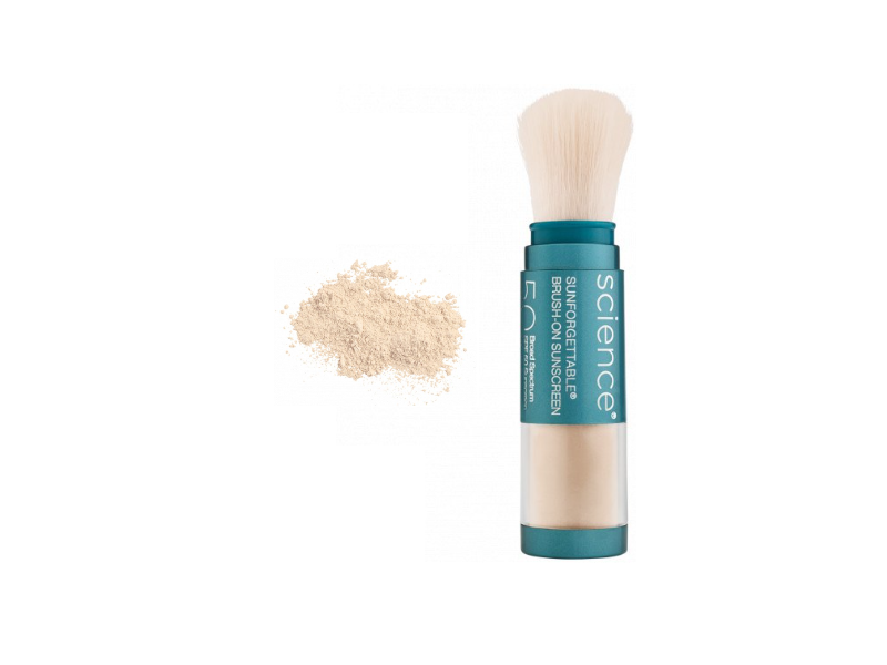 Colorescience Sunforgettable Total Protection Brush-On Shield, SPF 50, 0.21 oz/6 g