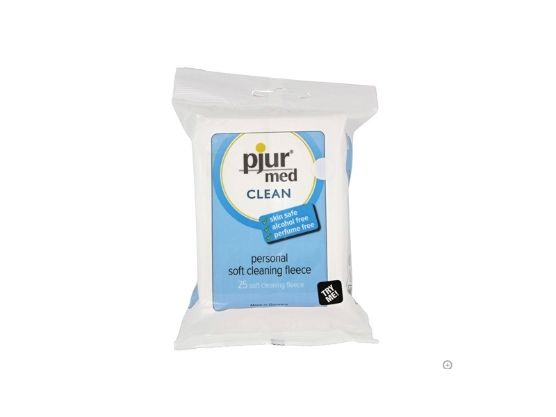 Pjur Med Clean Personal Soft Cleaning Fleece, 25 wipes