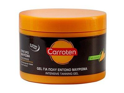Carroten Tan Express Intensive Tanning Gel, 150 ml
