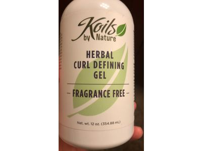 Koils By Nature Herbal Curl Defining Gel, Fragrance Free, 12 oz - Image 3