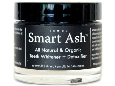 Smart Ash Organic All Natural & Organic Teeth Whitener & Detoxifier