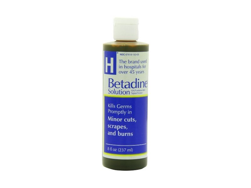 Betadine First Aid Solution, 8 Fluid Ounces