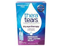 TheraTears Dry Eye Therapy Lubricant Eye Drops, 30 Single-Use Vials - Image 2