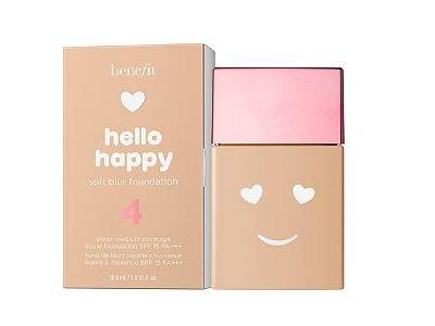 Benefits Cosmetics Hello Happy Soft Blur Foundation, Medium Neutral, 1.0 fl oz