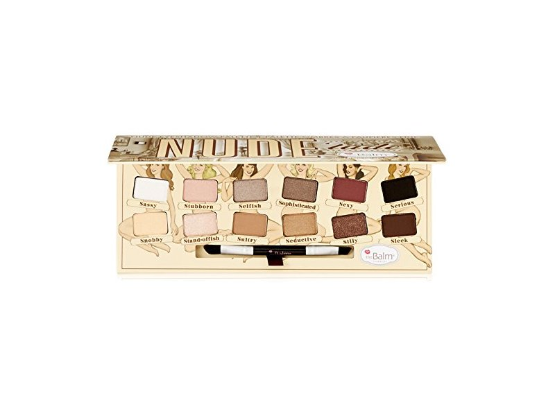 TheBalm NUDE tude Eyeshadow Palette Ingredients and Reviews