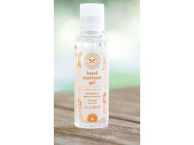 The Honest Company Hand Sanitizer Gel, Orange with Aloe, 2 oz