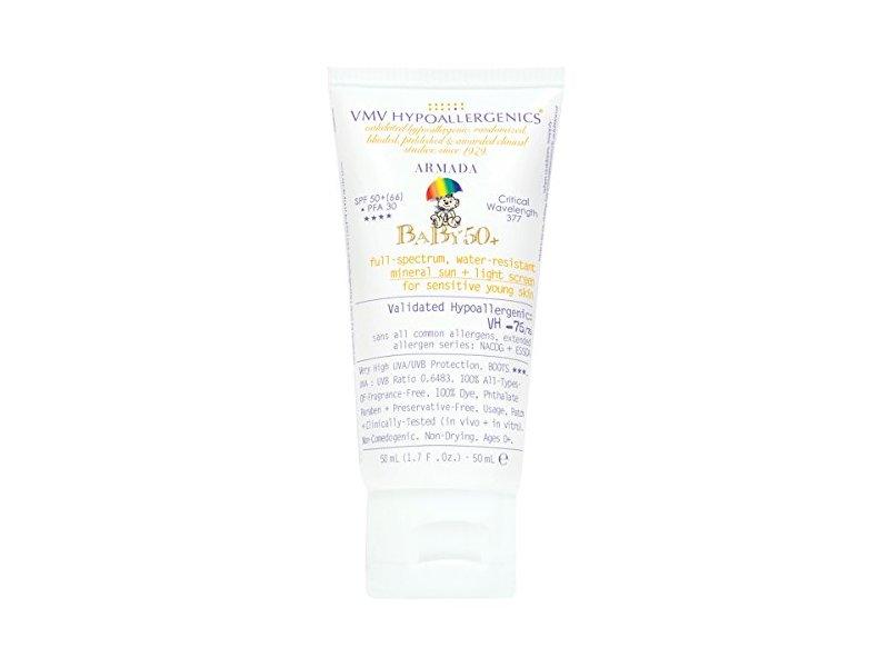 VMV Hypoallergenics Armada Baby 50+ Physical Sunscreen, 1.69 Fluid Ounce