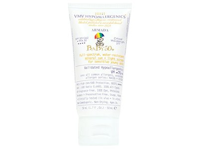 VMV Hypoallergenics Armada Baby 50+ Physical Sunscreen, 1.69 Fluid Ounce