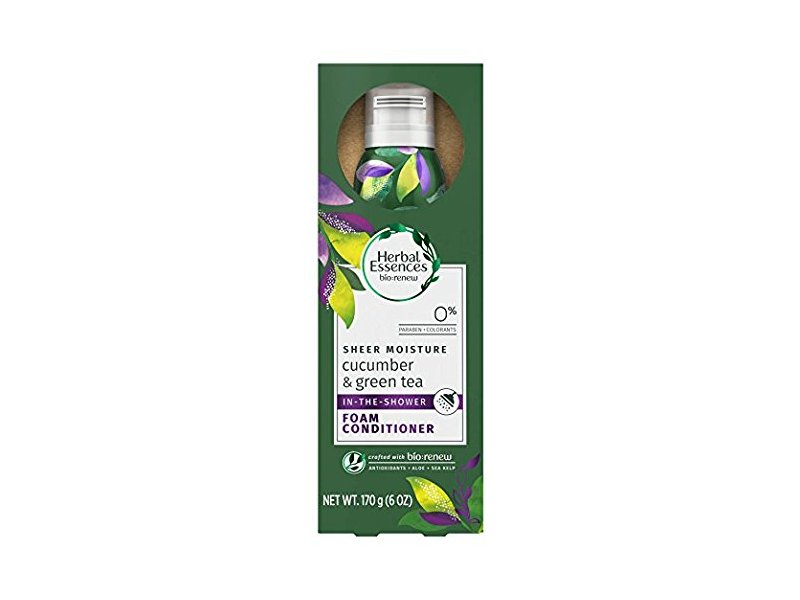 Herbal Essences Sheer Moisture In The Shower Foam Conditioner, Cucumber & Green Tea, 6 oz
