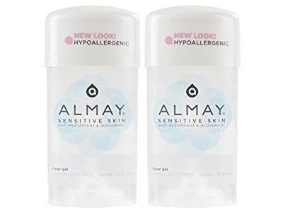 Almay Sensitive Skin Clear Gel Anti-Perspirant & Deodorant, 2.25 oz