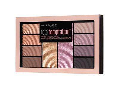 Maybelline Total Temptation Eyeshadow + Highlight Palette, 0.42 oz. - Image 3