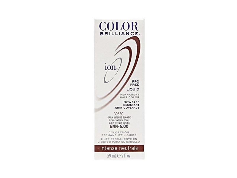 Ion 6nn Dark Intense Blonde Permanent Liquid Hair Color