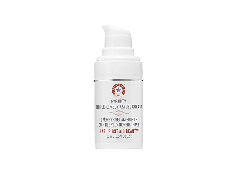 First Aid Beauty Eye Duty Triple Remedy Am Gel Cream, 0.5 Ounce