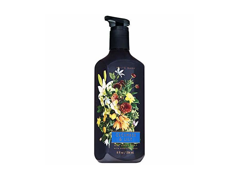 Bath and Body Works CUCUMBER & LILY Gel Hand Soap, 8 fl oz