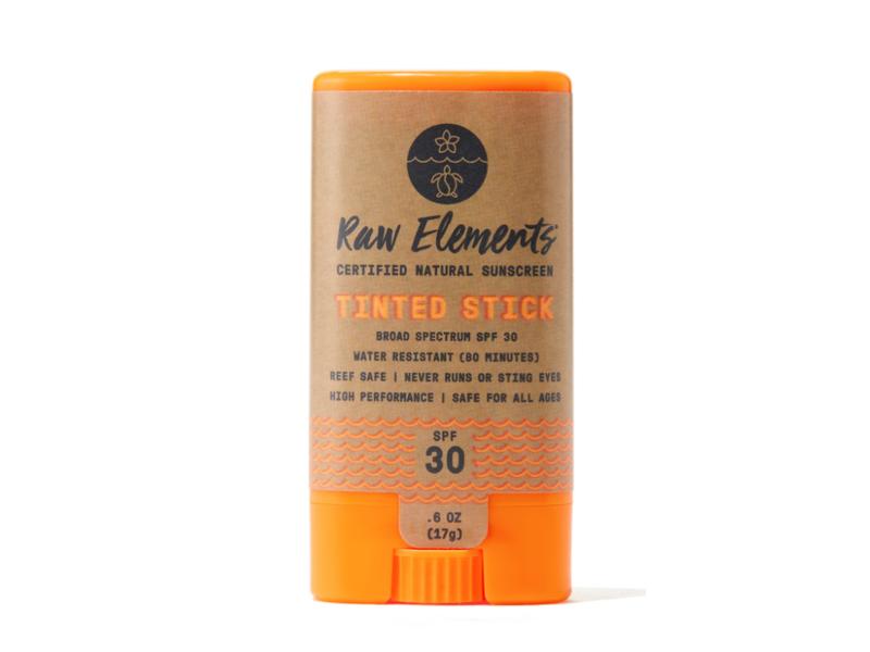 Raw Elements Tinted Stick SPF 30, .6 oz