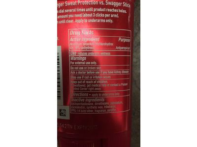 Old Spice Anti-Perspirant Deodorant, Strong Swagger, 2.6 oz - Image 4