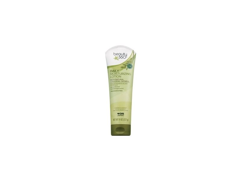 Beauty 360 Daily Moisturizing Lotion With Natural Colloidal Oatmeal