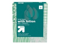 Up & Up Facial Tissue with Lotion, 4 Boxes - Image 2