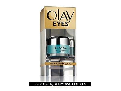 Olay Eyes Deep Hydrating Eye Gel with Hyaluronic Acid, 0.5 fl oz - Image 6