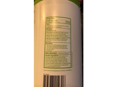 Babyganics Alcohol-Free Hand Sanitizing Wipes Canister Mandarin, 100ct - Image 4