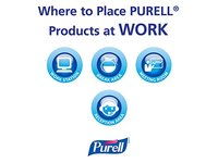 PURELL Advanced Instant Hand Sanitizer with Aloe, 12 oz Bottle - Image 8