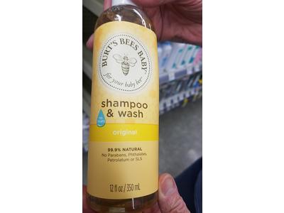Burt's Bees Baby Shampoo & Wash, Original, 12 ounces - Image 3