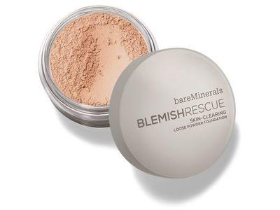 bareMinerals Blemish Rescue Skin-Clearing Loose Powder Foundation, Medium Beige, .21 oz