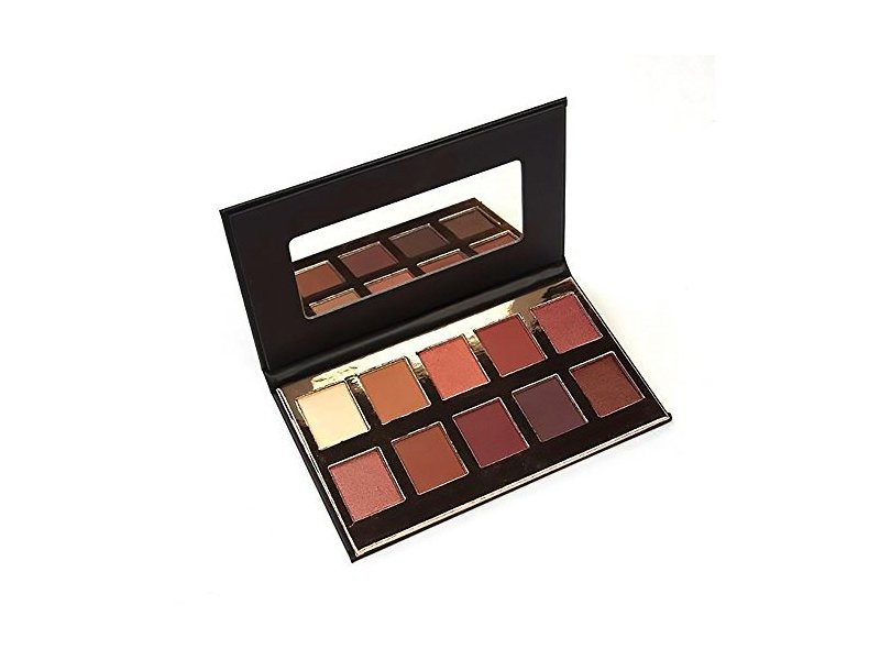 Crown Pro 10 Color Fuego Collection, Eye Shadow Palette, 0.71 oz