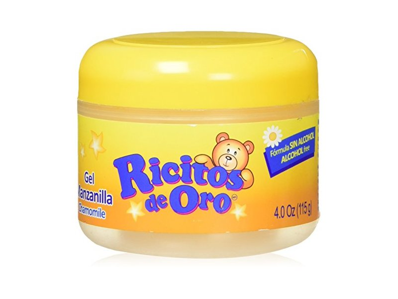 Ricitos De Oro Hair Gel , Chamomile Extract , 4.0 Ounces, 115g