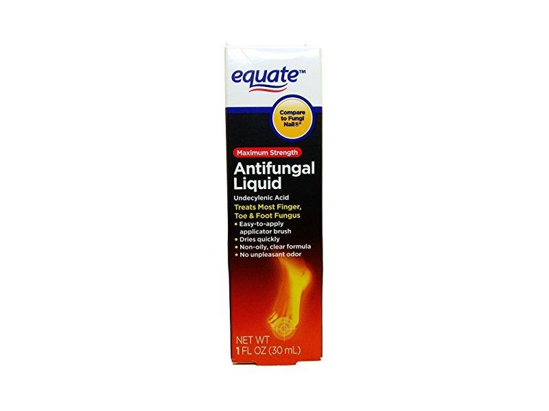 Equate Antifungal Liquid, Maximum Strength, 1 fl oz