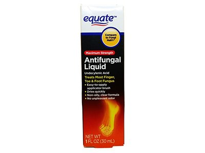 Equate Antifungal Liquid, Maximum Strength, 1 fl oz
