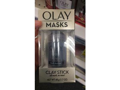 Olay Masks Pore Detox Black Charcoal Clay Mask Stick, 1.7 oz - Image 3
