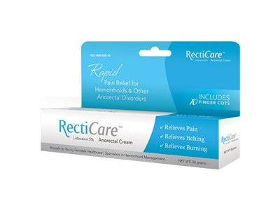 Recticare Pain Relief for Hemorrhoids and Other Anorectal Disorders - Image 1