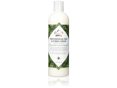 Nubian Heritage Abyssinian Oil & Chia Seed Body Wash, 13 Ounce