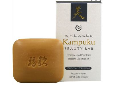 Dr Ohhira's Probiotic Essential Formulas Kampuku Beauty Bar, 2.82 oz - Image 1