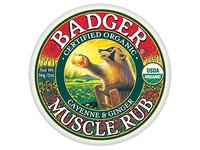 Badger Organic Muscle Rub, Cayenne & Ginger, 2 oz - Image 2