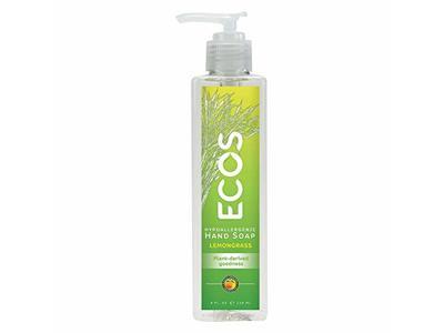 Ecos Hand Soap, Lemongrass, 8 fl oz - Image 1