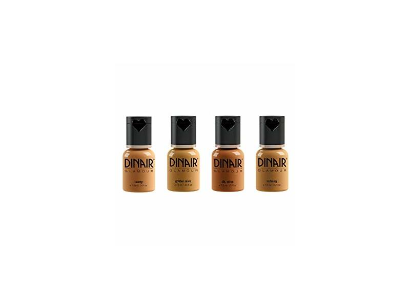 Dinair Airbrush Makeup Natural Foundation, All Shades