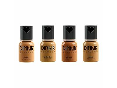 Dinair Airbrush Makeup Natural Foundation, All Shades - Image 1